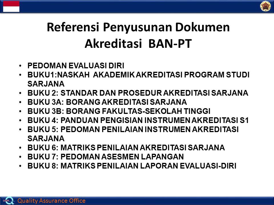 Referensi Penyusunan Dokumen Akreditasi BAN-PT