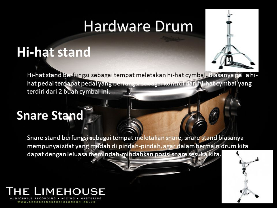 Hardware Drum Hi-hat stand Snare Stand