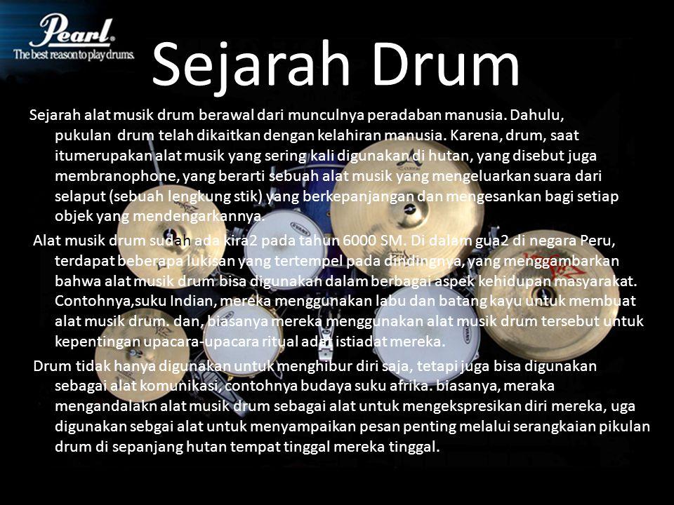 Sejarah Drum