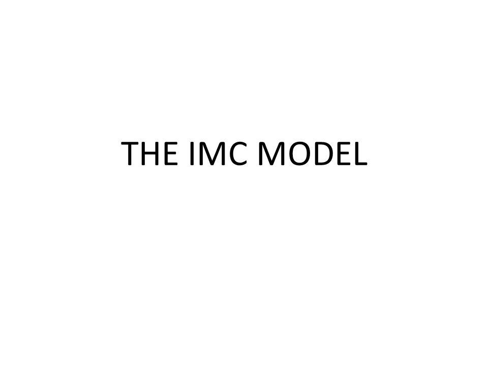 THE IMC MODEL