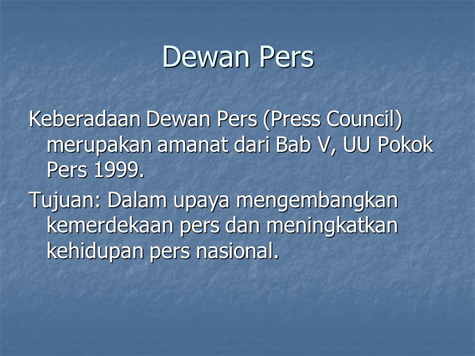 Dewan Pers