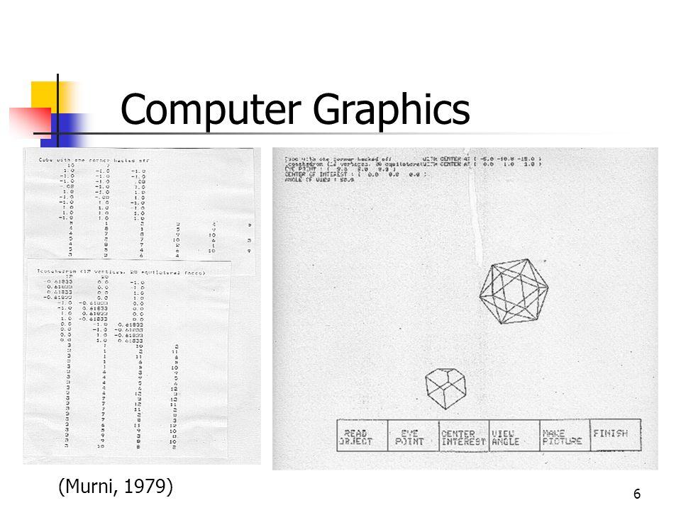 Computer Graphics (Murni, 1979)