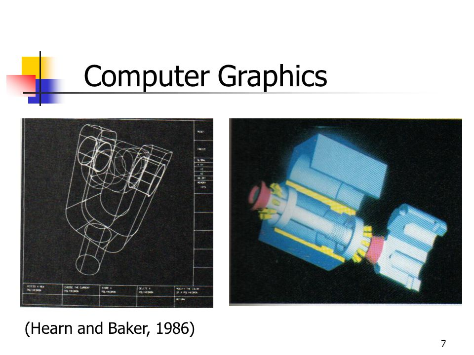 Computer Graphics (Hearn and Baker, 1986)