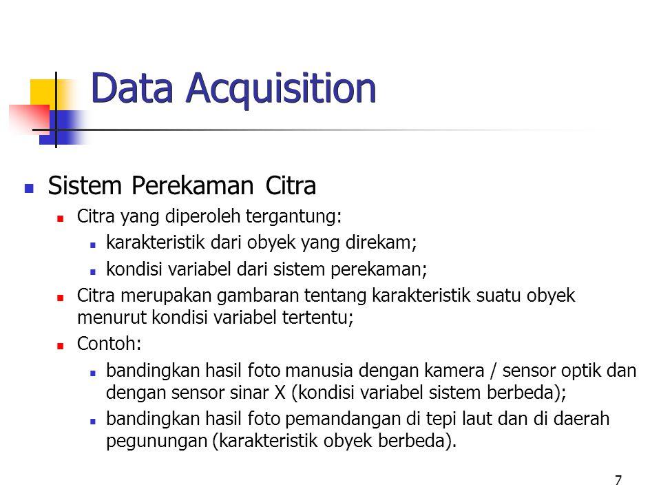 Data Acquisition Sistem Perekaman Citra