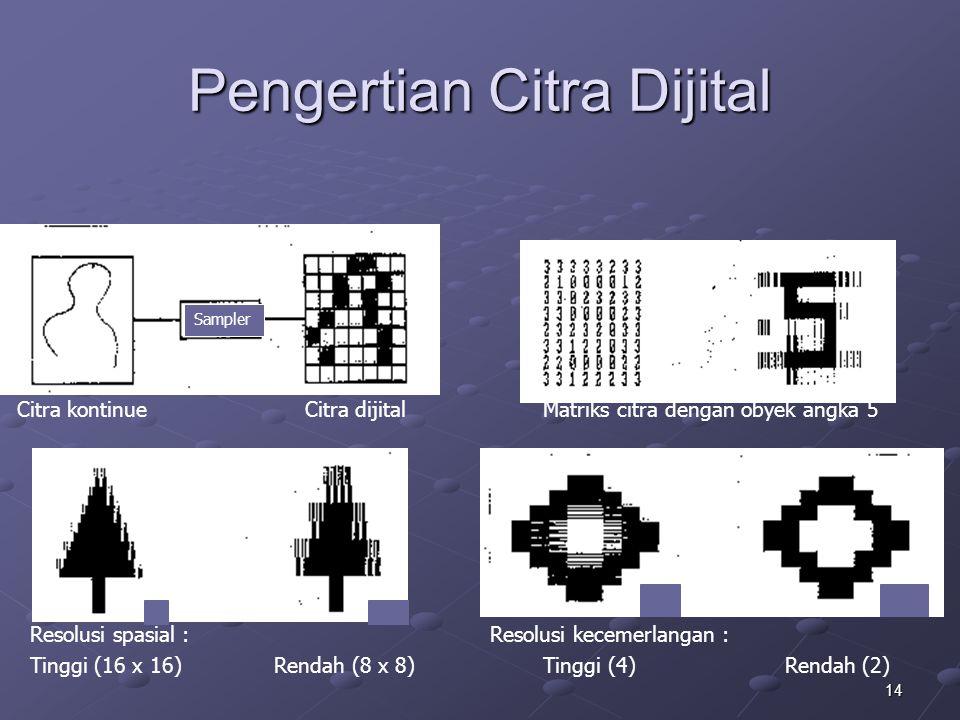 Pengertian Citra Dijital