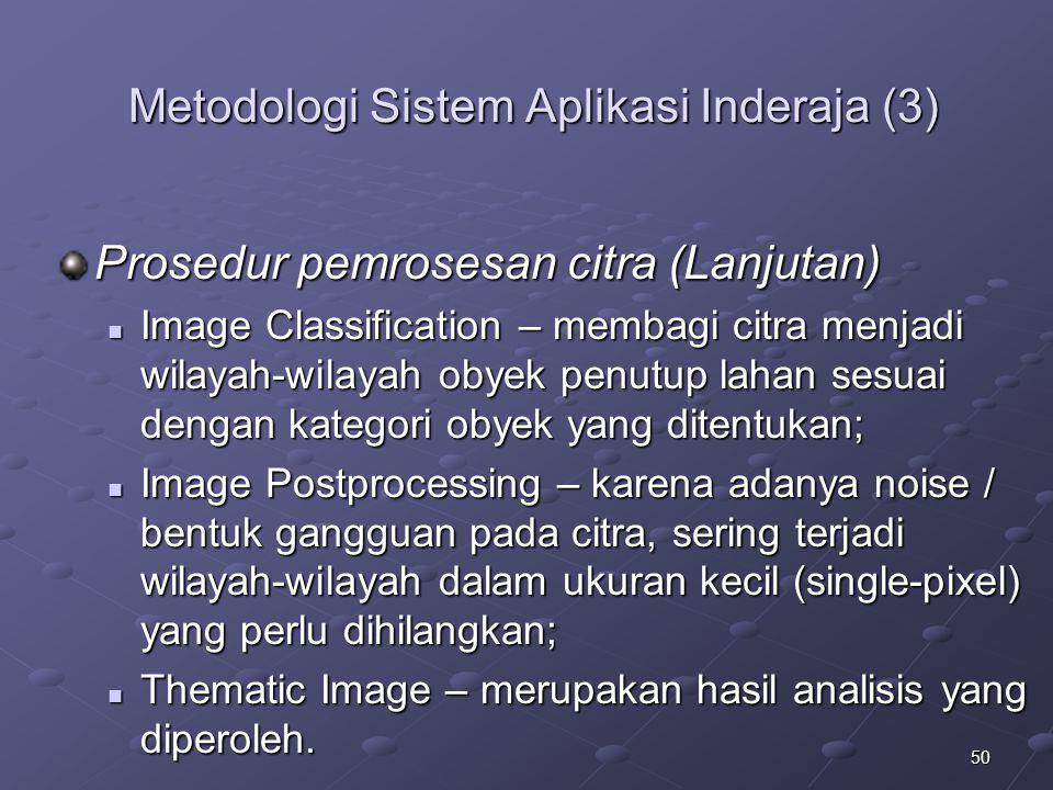 Metodologi Sistem Aplikasi Inderaja (3)