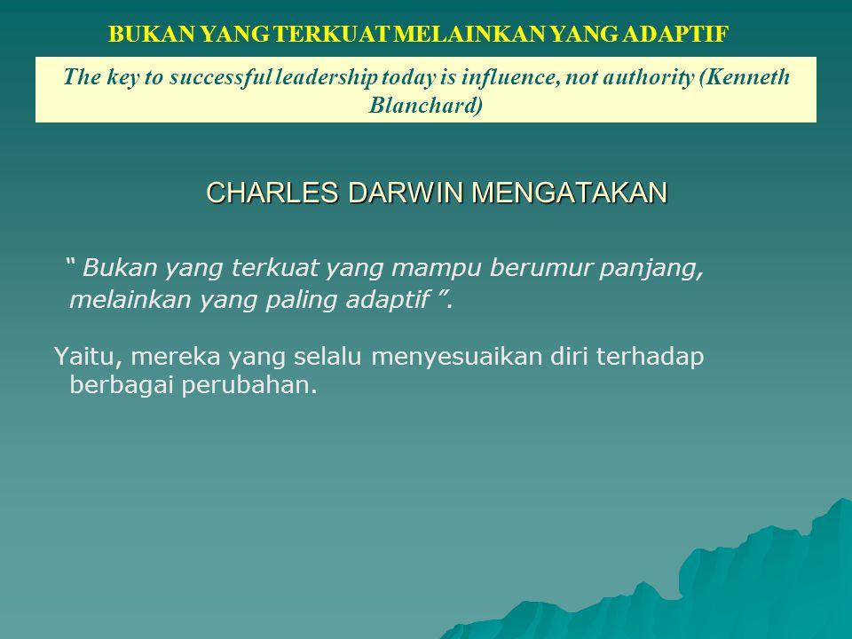 CHARLES DARWIN MENGATAKAN