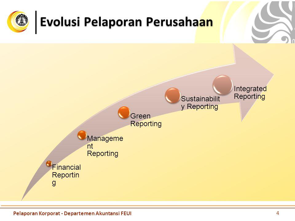 Evolusi Pelaporan Perusahaan