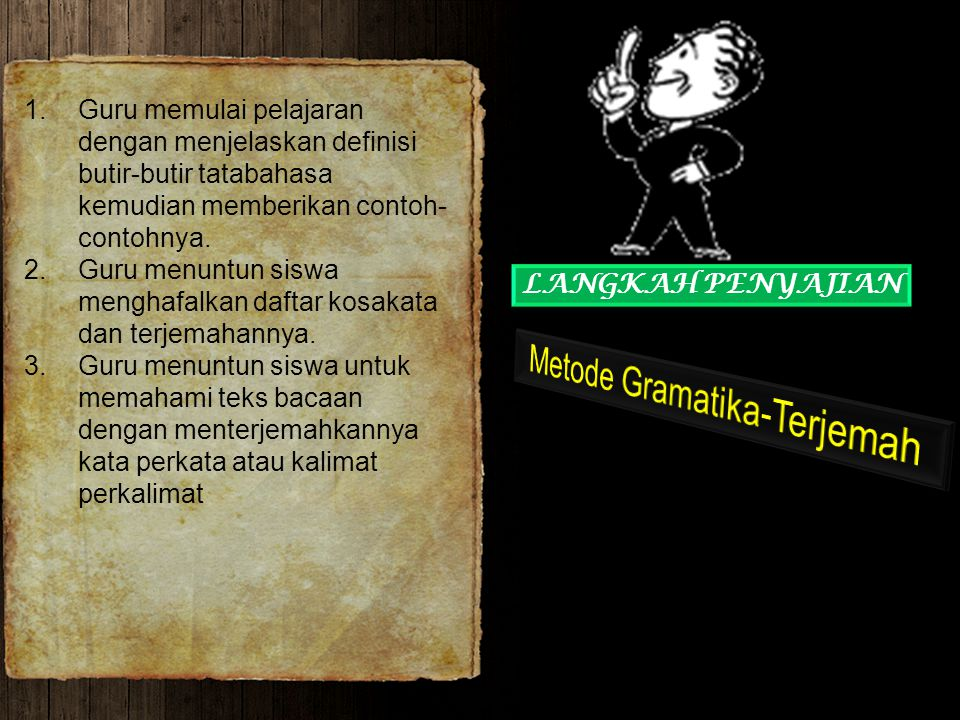 Metode Gramatika-Terjemah