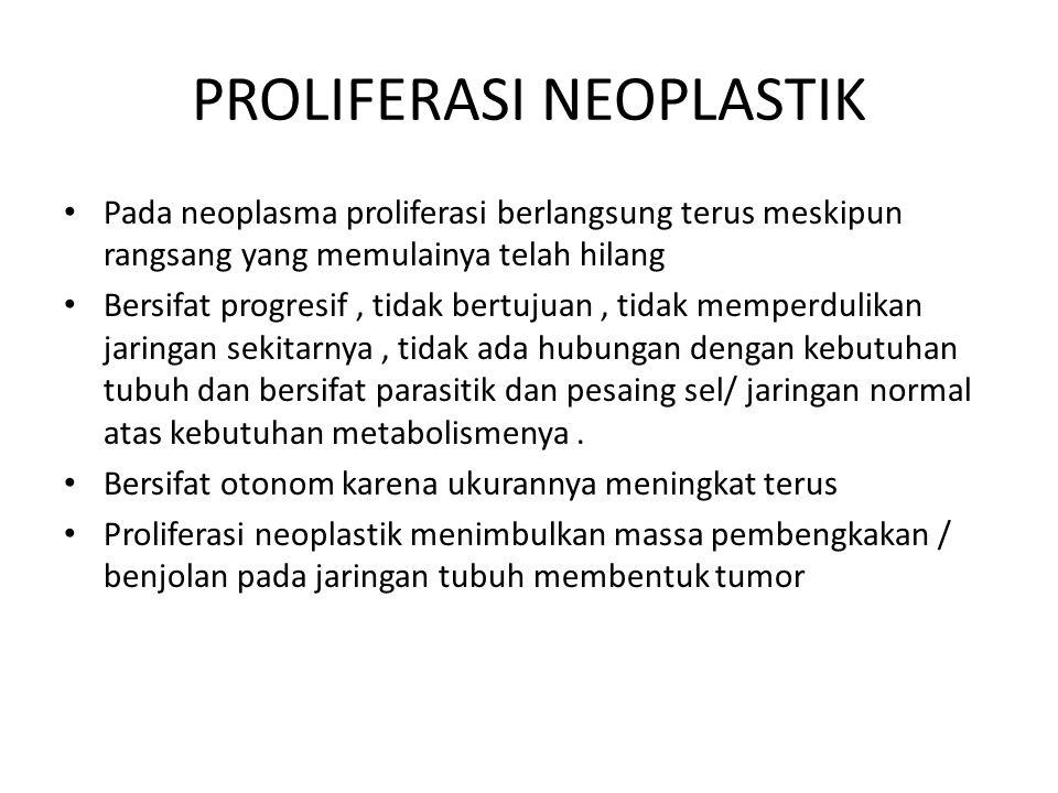 PROLIFERASI NEOPLASTIK