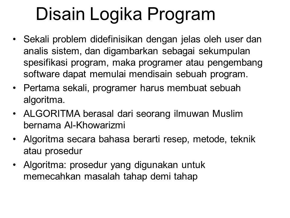 Disain Logika Program