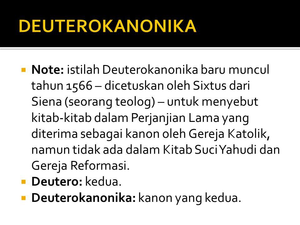DEUTEROKANONIKA