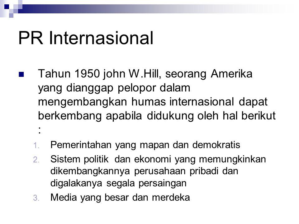 PR Internasional