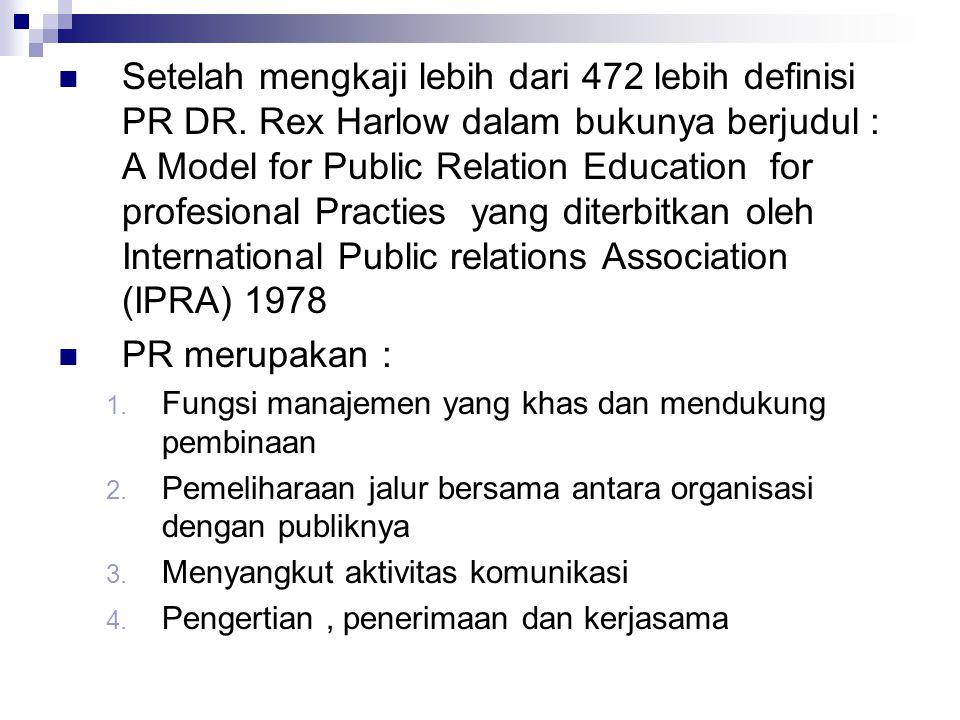 Setelah mengkaji lebih dari 472 lebih definisi PR DR
