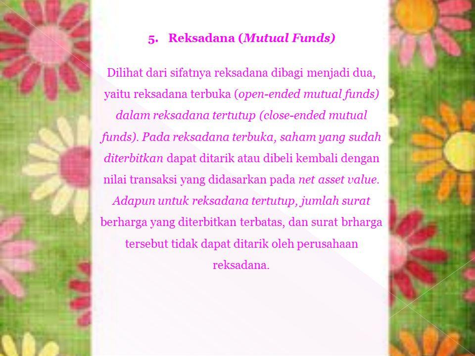 5. Reksadana (Mutual Funds)