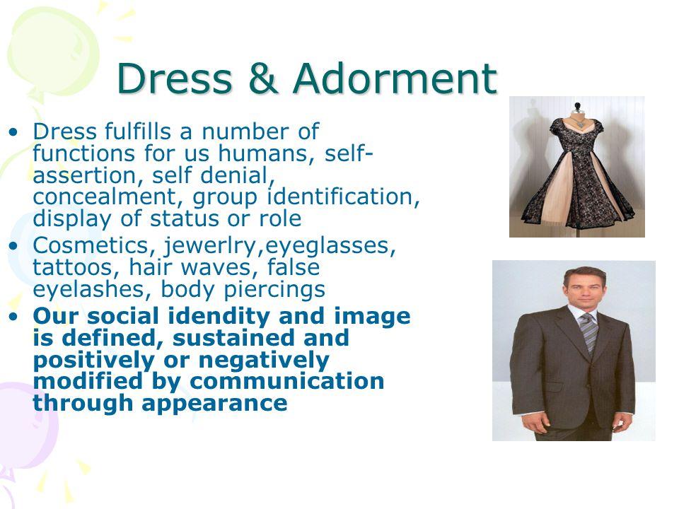 Dress & Adorment