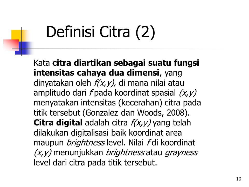 Definisi Citra (2)