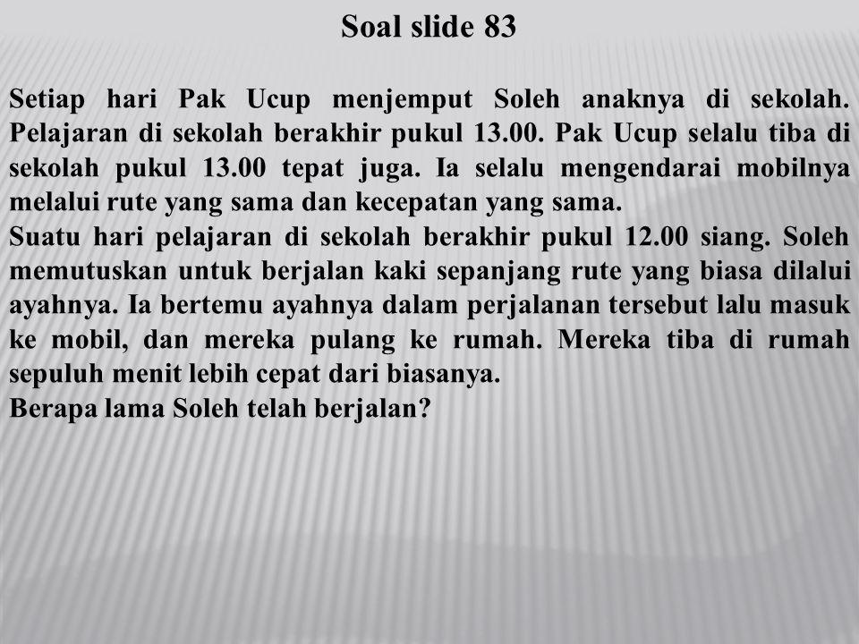 Soal slide 83