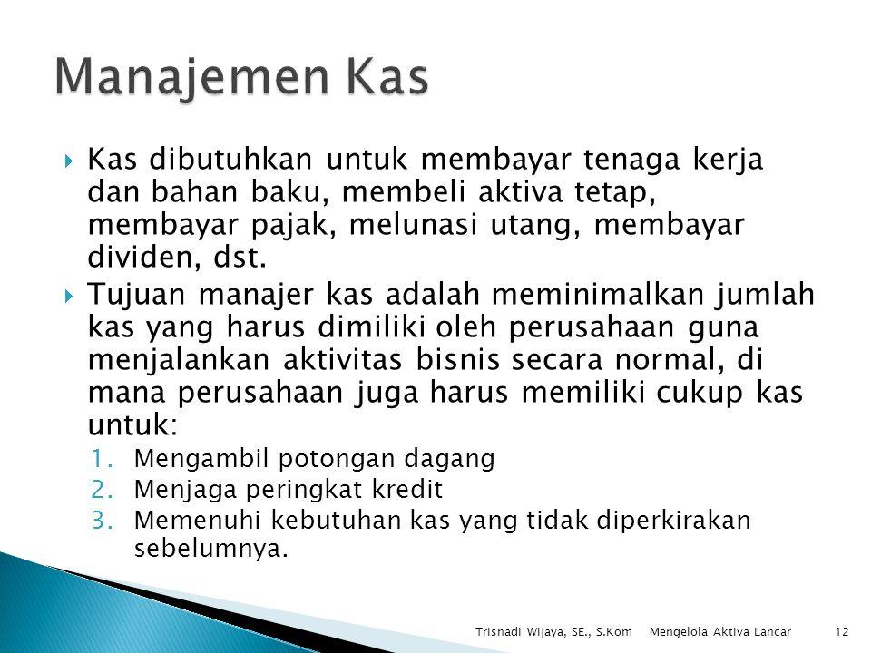 Manajemen Kas