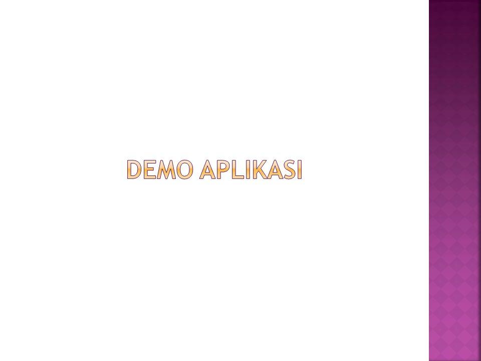 Demo Aplikasi