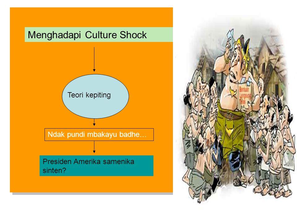 Menghadapi Culture Shock
