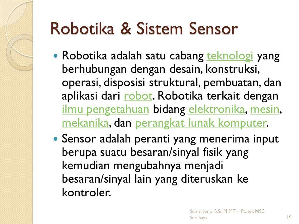 Robotika & Sistem Sensor