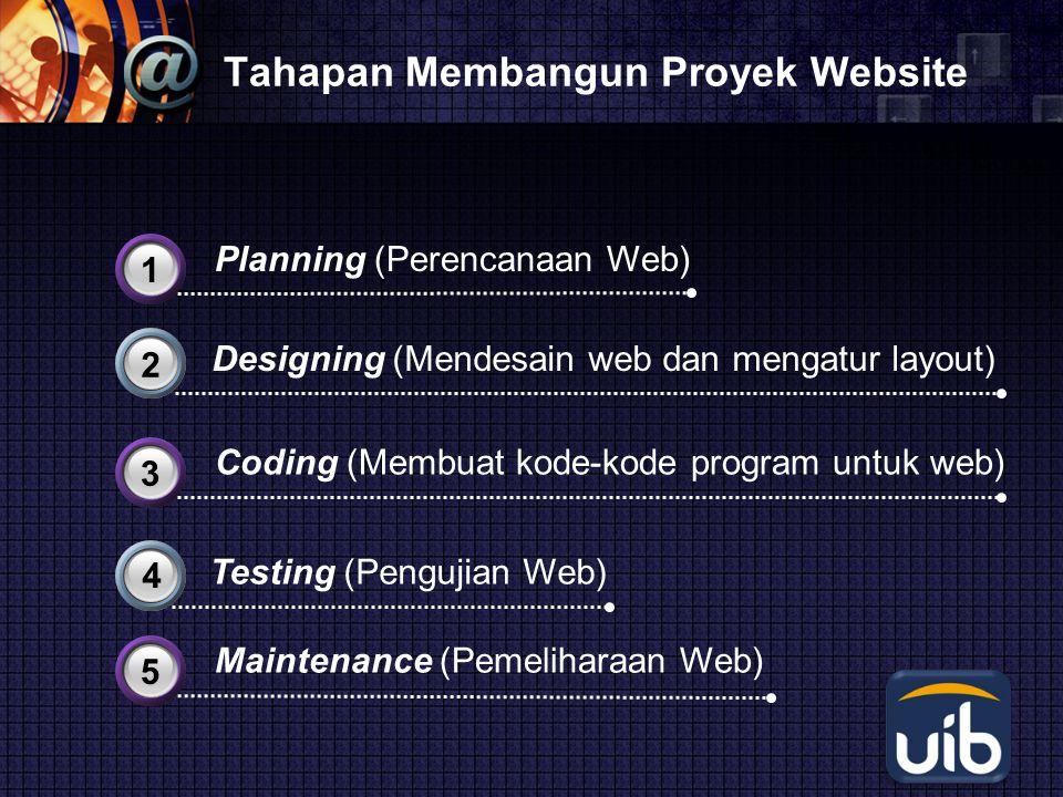 Tahapan Membangun Proyek Website
