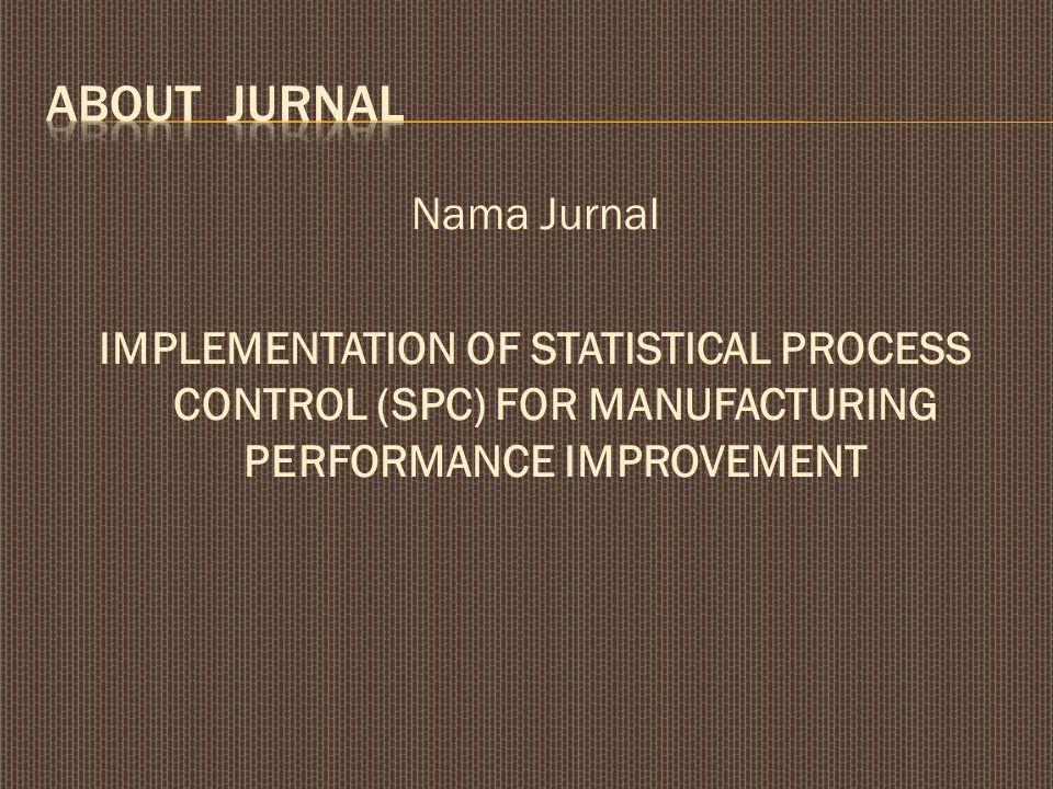 About jurnal Nama Jurnal