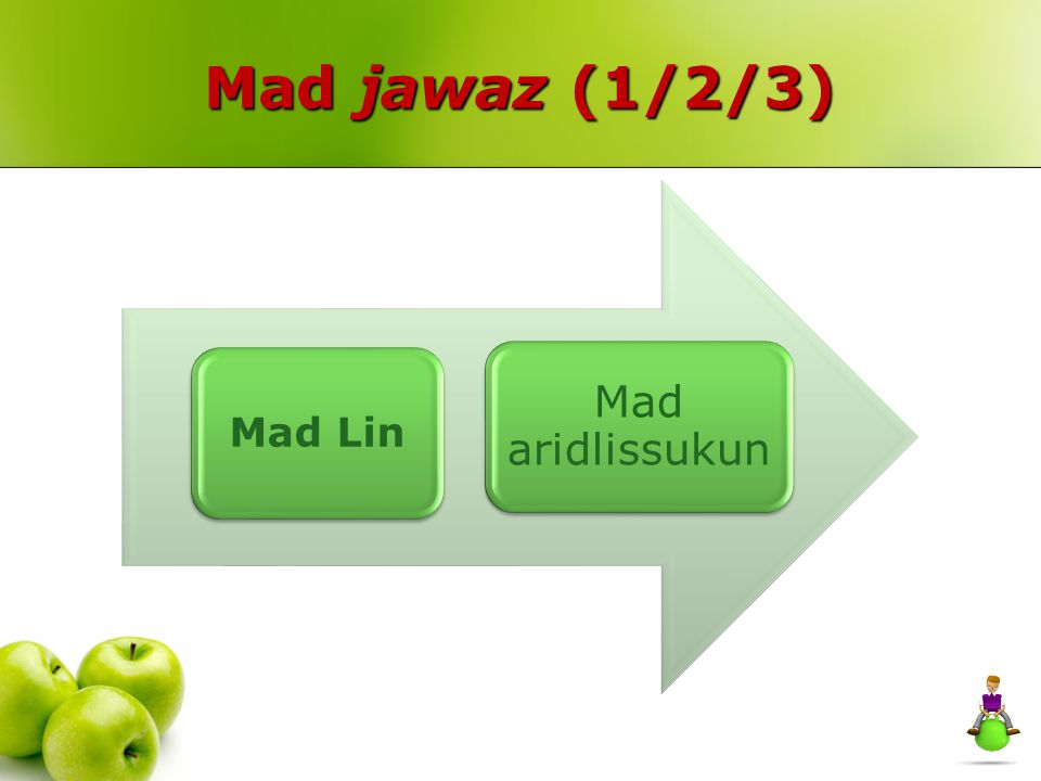 Mad jawaz (1/2/3) Mad Lin Mad aridlissukun