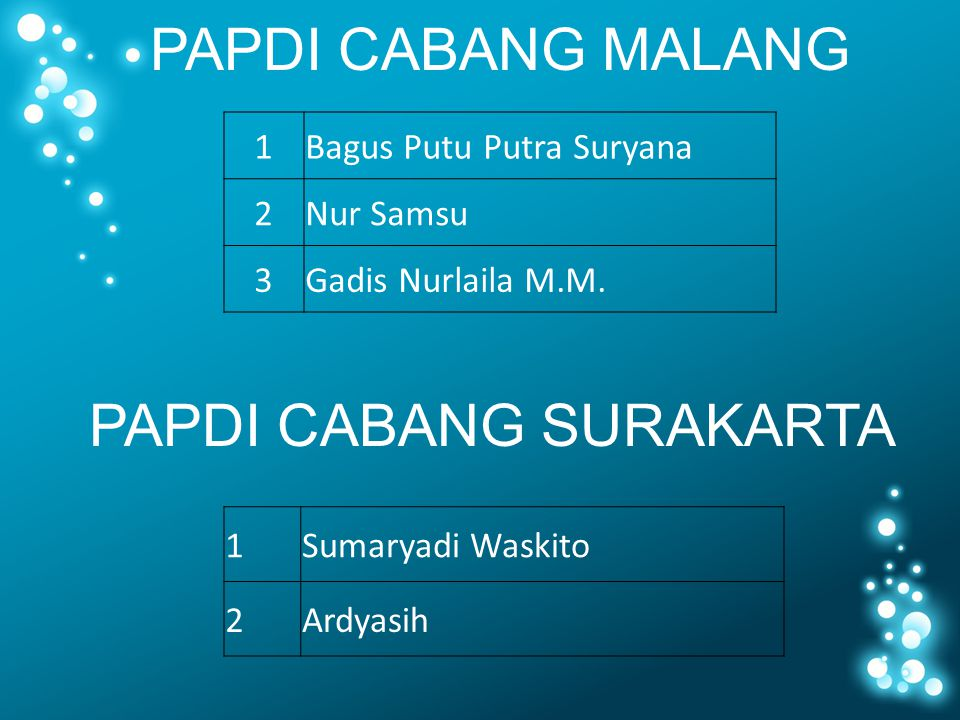 PAPDI CABANG SURAKARTA