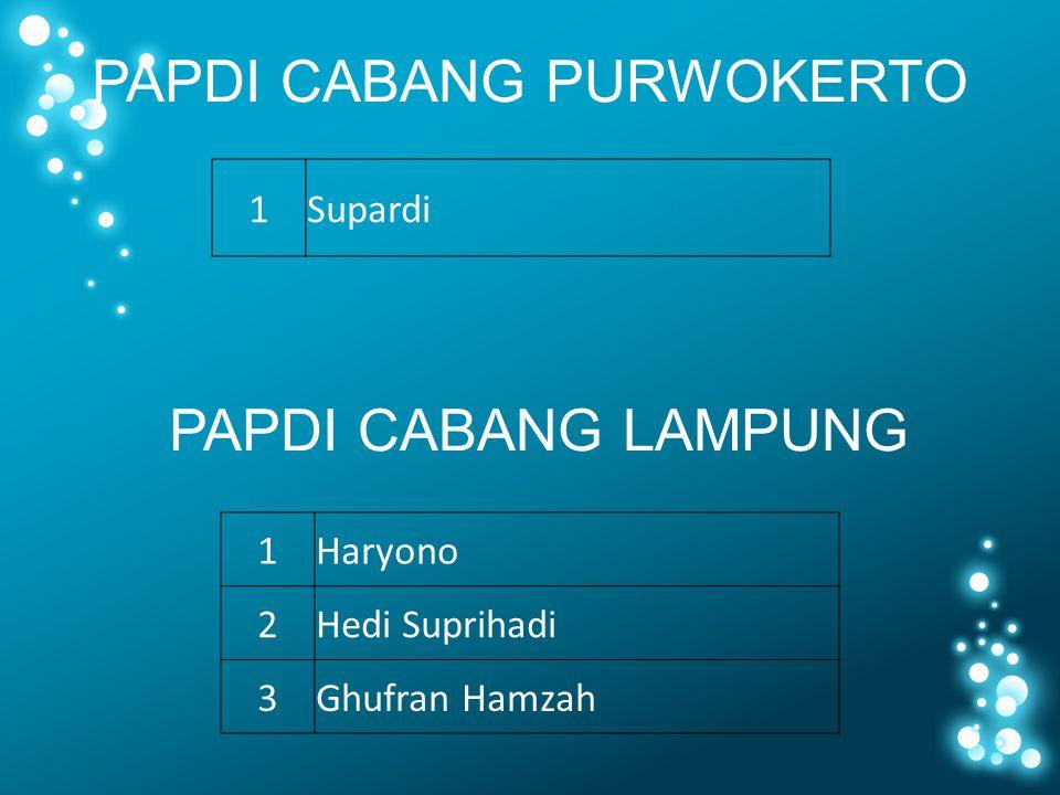 PAPDI CABANG PURWOKERTO