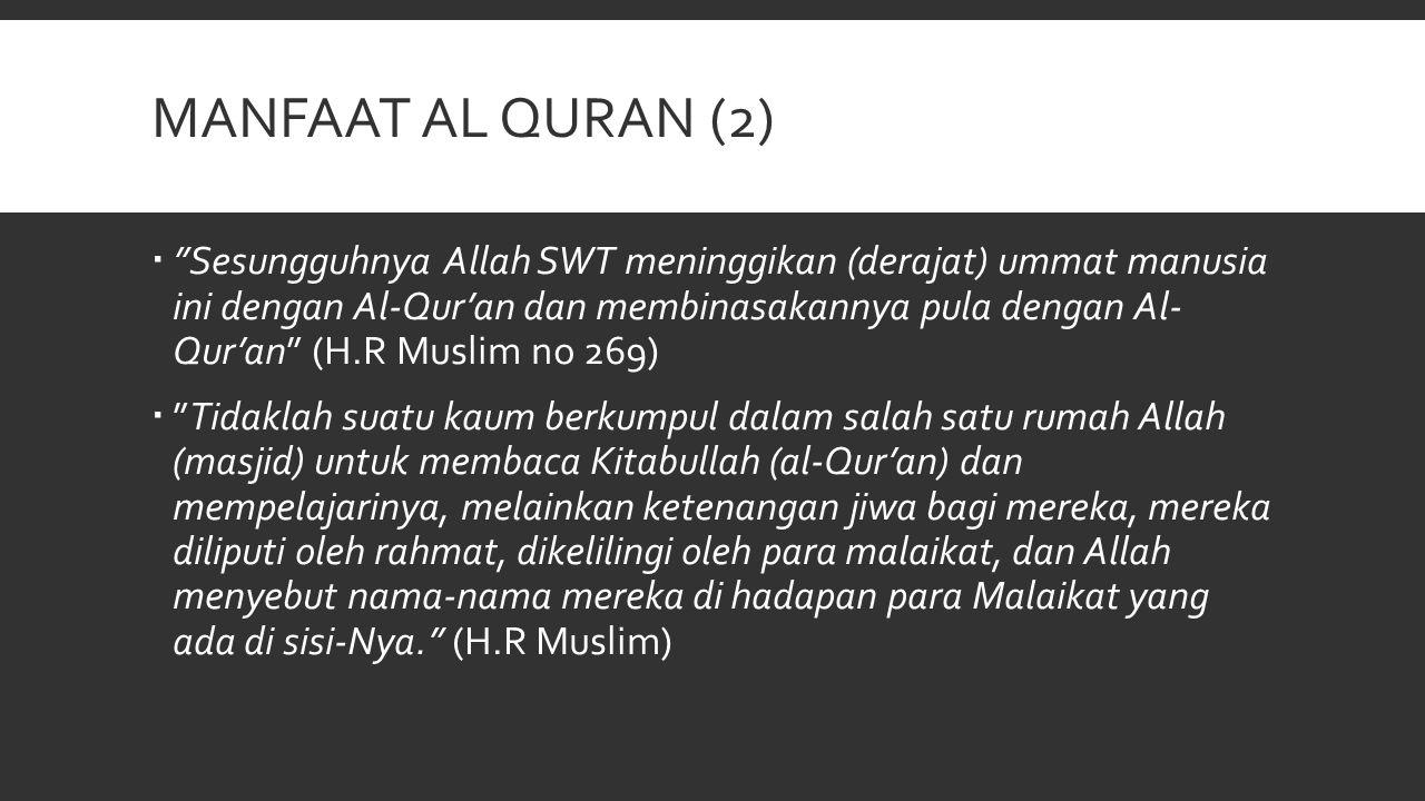 Manfaat al quran (2)