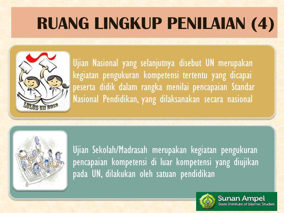 RUANG LINGKUP PENILAIAN (4)