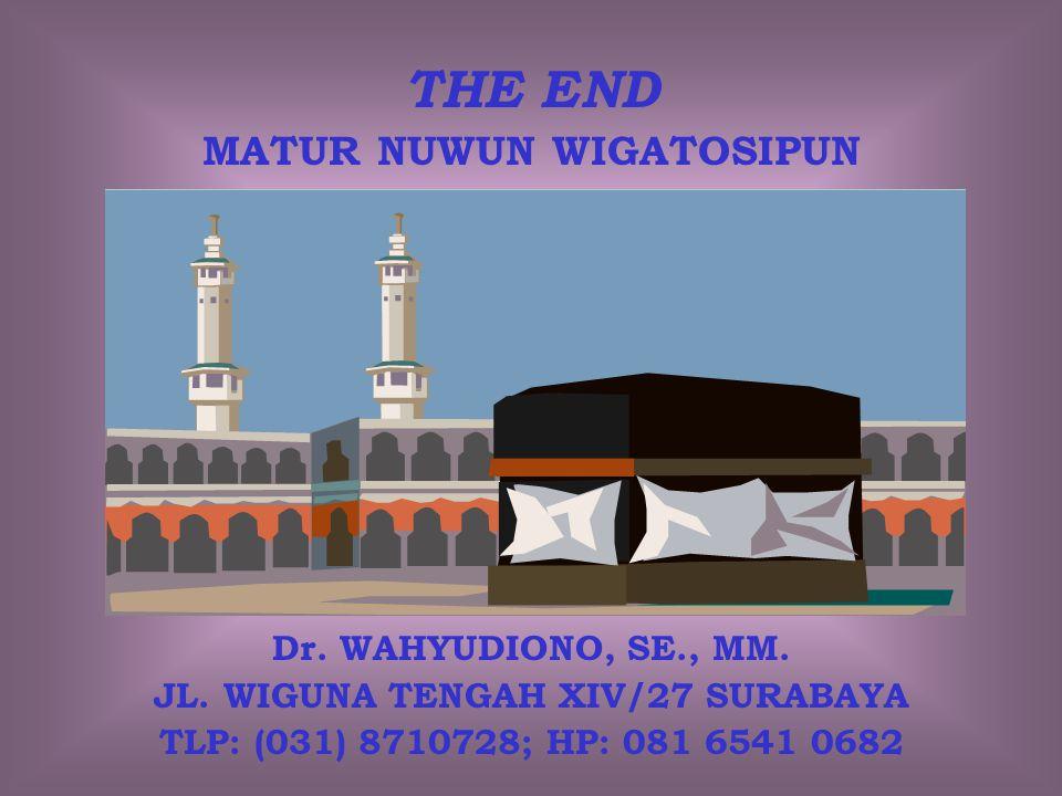 MATUR NUWUN WIGATOSIPUN JL. WIGUNA TENGAH XIV/27 SURABAYA