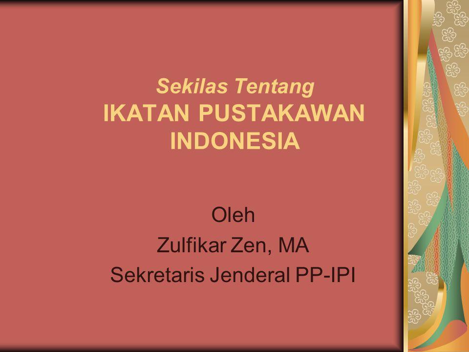 Sekilas Tentang IKATAN PUSTAKAWAN INDONESIA