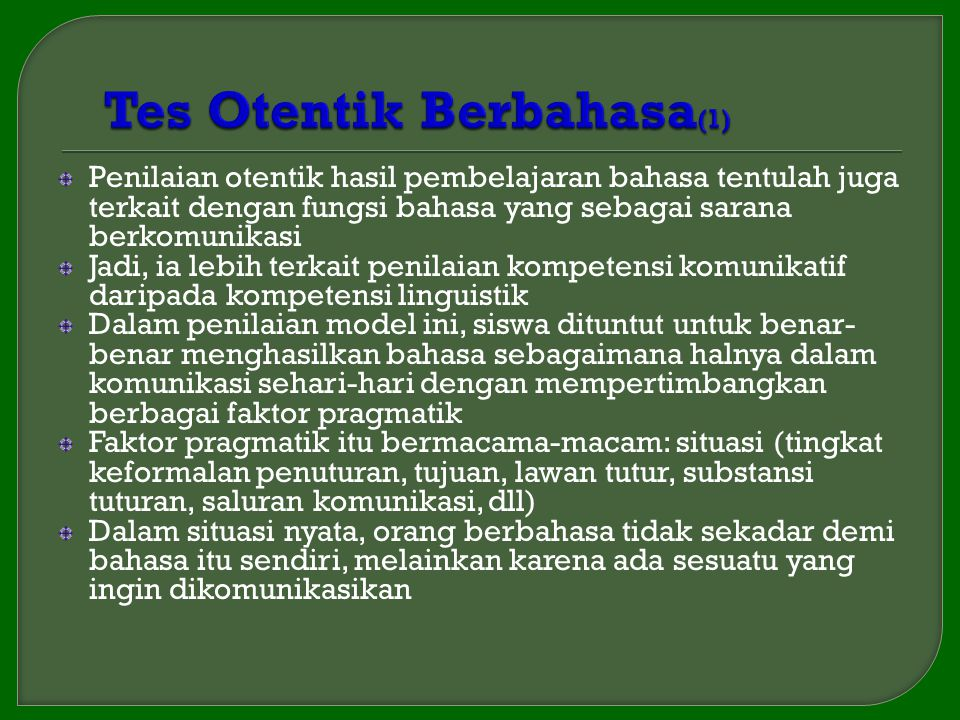 Tes Otentik Berbahasa(1)