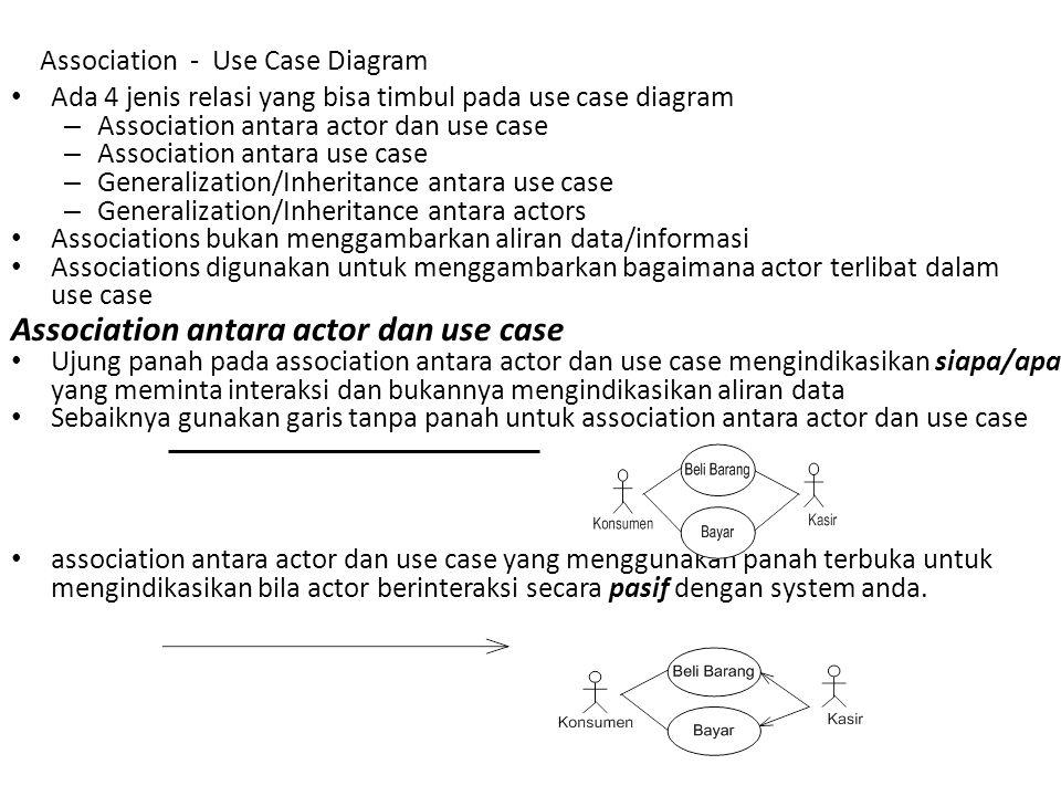 Association - Use Case Diagram
