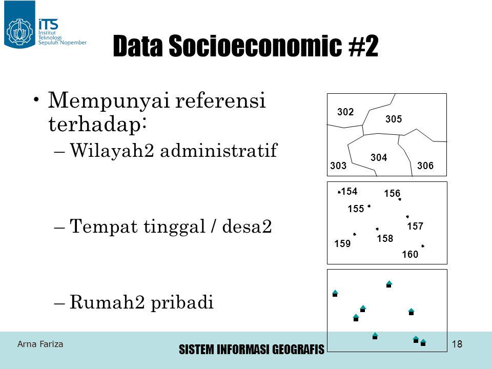 Data Socioeconomic #2 Mempunyai referensi terhadap: