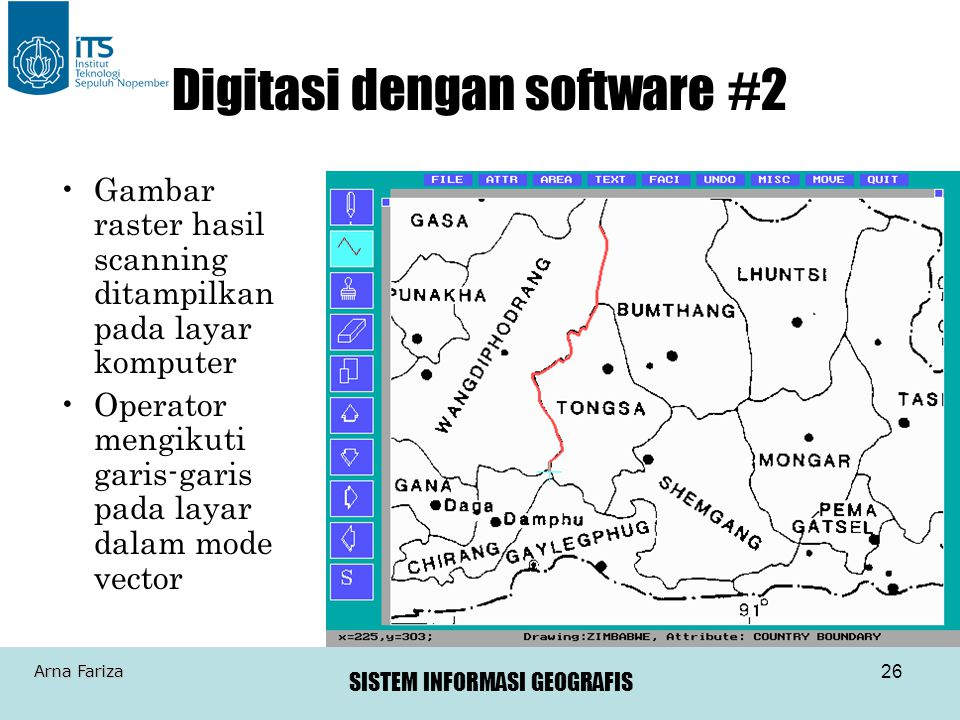 Digitasi dengan software #2