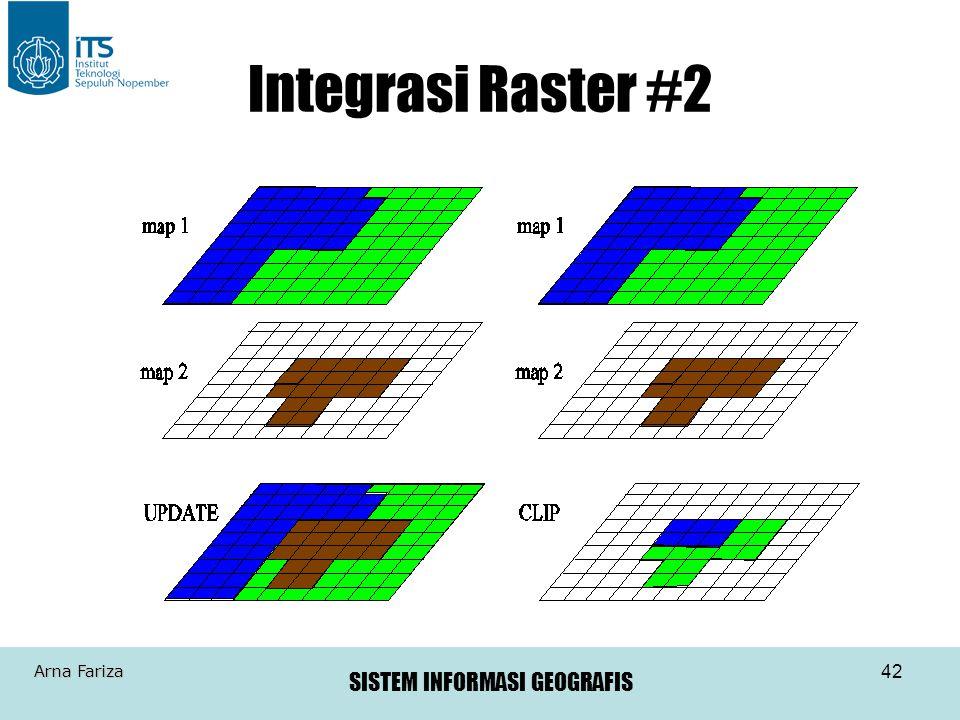 Integrasi Raster #2