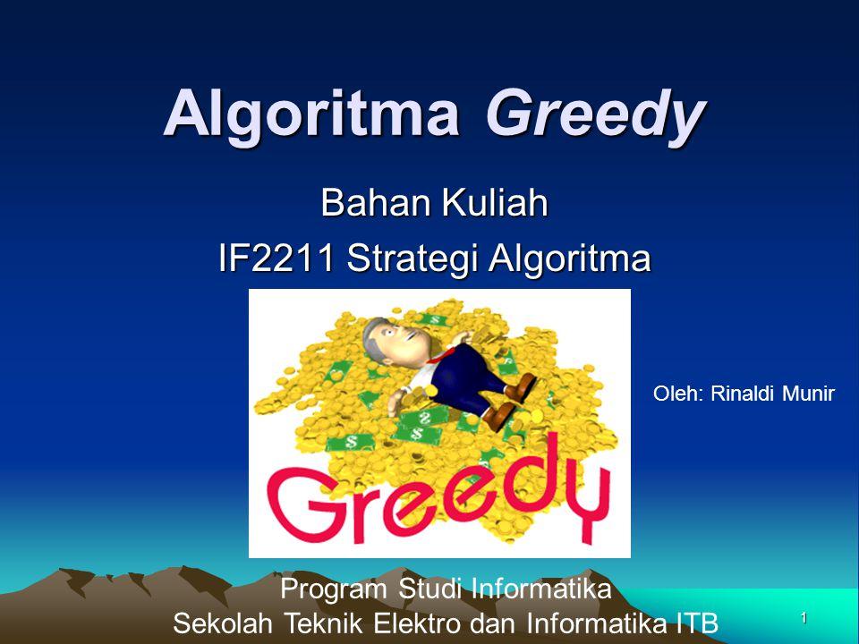 Bahan Kuliah IF2211 Strategi Algoritma