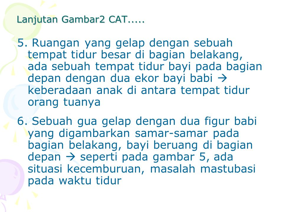 Lanjutan Gambar2 CAT.....