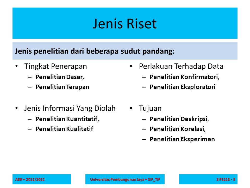 Universitas Pembangunan Jaya – SIF_TIF