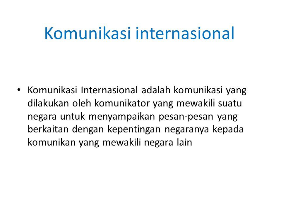 Komunikasi internasional