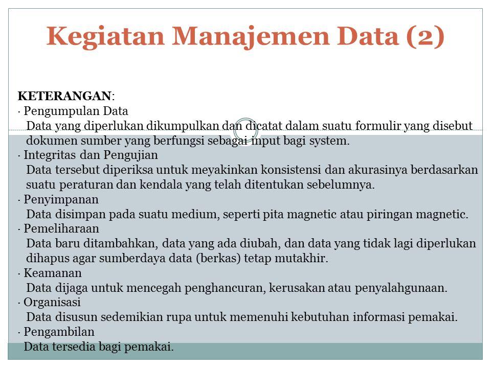 Kegiatan Manajemen Data (2)