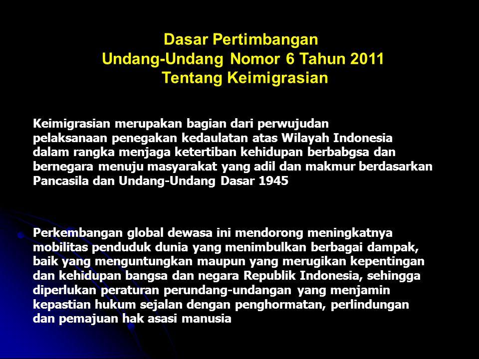 Undang-Undang Nomor 6 Tahun 2011