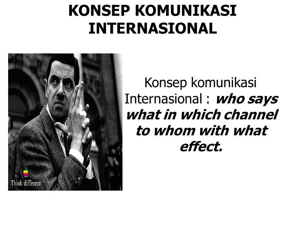 KONSEP KOMUNIKASI INTERNASIONAL