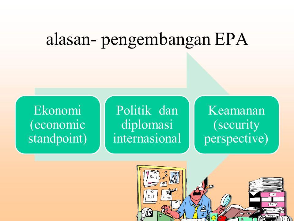 alasan- pengembangan EPA
