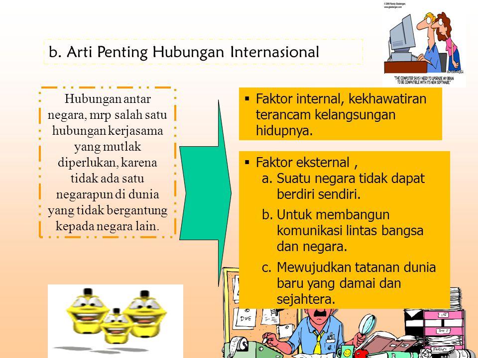 Arti Penting Hubungan Internasional