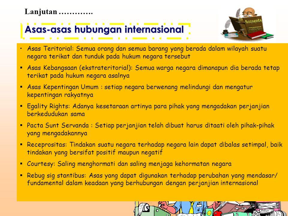 Asas-asas hubungan internasional